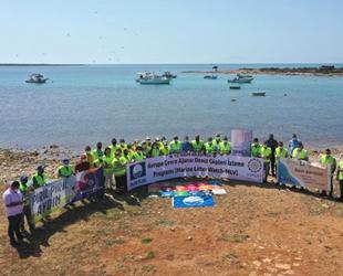 Deniz Çöpleri İzleme Projesi'nin ilkbahar etabı gerçekleşti
