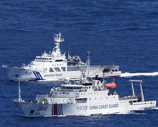 Çin Sahil Güvenlik gemileri, Japon karasularına girdi