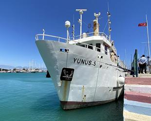 'Yunus-S' gemisi, deniz altı dağlarını araştıracak