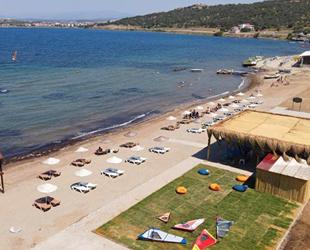 Ayvalık'ın 'mavi bayrak'lı plaj sayısı 14'e yükseldi