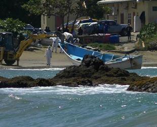 Tobago'da sürüklenen teknede 14 ceset bulundu