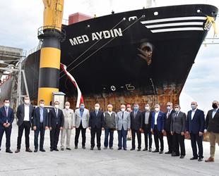 Medlog Gemicilik, Türk bayraklı en büyük konteyner gemisi MED AYDIN'ı filosuna kattı