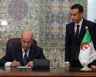 Cezayir, Türkiye ile imzalanan deniz anlaşmasını onayladı