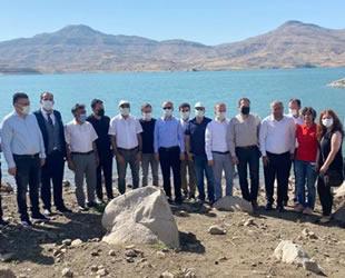 Ilısu Barajı'nda Kafes Alabalık Üretim Çiftliği Projesi hayata geçiriliyor