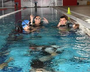 Samsun'da 30 itfaiyeciye dalgıç eğitimi verildi