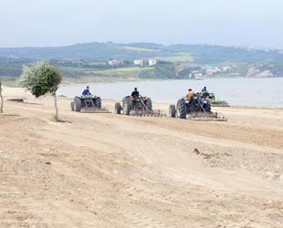 Mudanya Esence sahili yaza hazırlanıyor