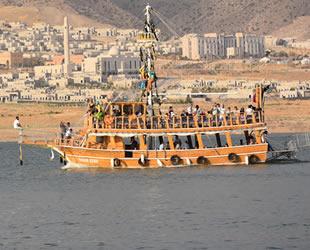 Hasankeyf'te 17 adet tekne hizmet verecek