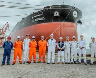 Kuveyt, yeni petrol tankeri Al-Siddeeq'i teslim aldı