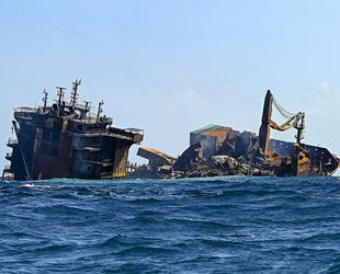 Yanan X-Press Pearl gemisinin kara kutusu kurtarıldı