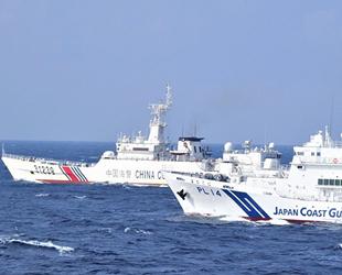 Japonya ile Çin arasında gemi gerginliği sürüyor