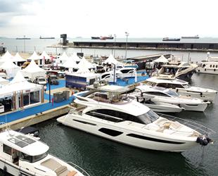 Milyonluk deniz araçları, Ataköy Marina'da tanıtıldı