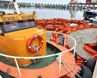 Asyaport ekibi, deniz salyası temizliğine büyük katkı veriyor