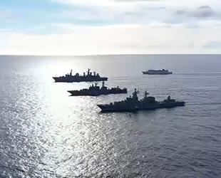 Rusya, Pasifik Okyanusu'nda Agile Dagger 2021 Tatbikatı'na başladı