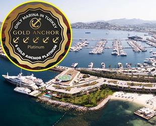 Yalıkavak Marina, '5 Altın Çıpa Platin' ödülünü kazandı