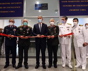 NATO Deniz Güvenliği Mükemmeliyet Merkezi Komutanlığı açıldı