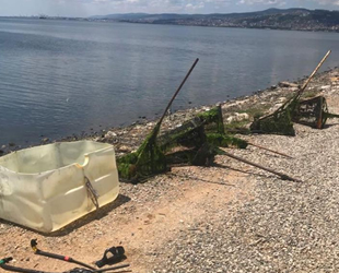 İzmit Körfezi'nde kaçak midye avcıları yakalandı