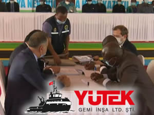 YÜTEK, Tanzanya Ulaştırma Bakanlığı'yla 4 adet yeni gemi inşa sözleşmesi imzaladı