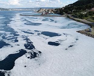 Gelibolu Yarımadası sahilleri müsilaja teslim oldu