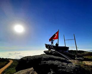 Karadenizliler kayıklarını dağlara taşımaya başladı