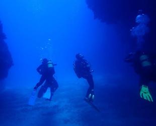 Su altı arama kurtarma ekibine dalış eğitimi verildi