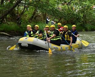 Marmara'nın ilk rafting parkuru Orhaneli'de açıldı
