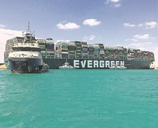 Evergreen, gemi kazası için Mısır'a 150 milyon dolar ödemeyi kabul etti