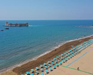Mersin plajlarında yaz sezonu hazırlıkları tamamlandı