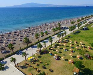 Aliağa Ağapark Plajı, 'Mavi Bayrak' aldı