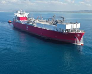 Ertuğrul Gazi FSRU gemisi, 25 Haziran'da hizmete başlıyor