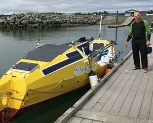 Erden Eruç, Pasifik Okyanusu'nu kürekle geçmek için denize açıldı