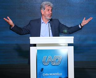 Çetin Nuhoğlu, yeniden UND Başkanlığı'na seçildi