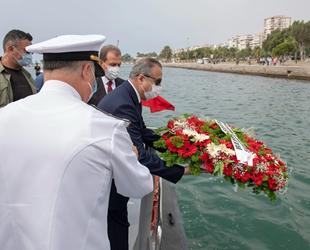 Refah Şilebi'nde şehit olan 167 denizci törenle anıldı