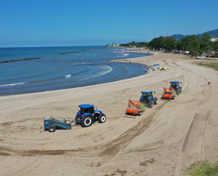 Ordu'daki plajlar, yaz sezonuna hazırlanıyor