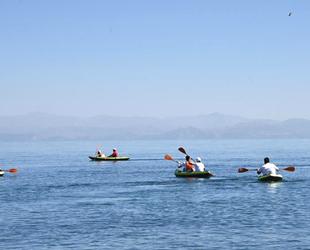 Ahlat'ta kano eğitimleri başladı