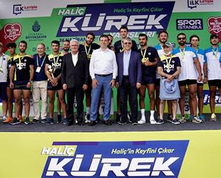 Haliç Kürek Yarışları gerçekleştirildi