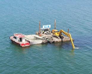 Van Gölü'nün bütün sahilleri yüzülecek hale geliyor