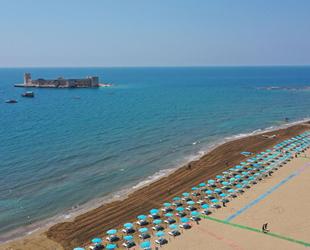 Kızkalesi Halk Plajı, 'Mavi Bayrak' aldı