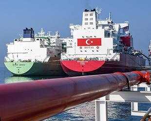 Ertuğrul Gazi FSRU gemisine ilk sıvı doğalgaz nakli başladı