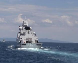 Rus savaş gemileri, Akdeniz'de hava savunma tatbikatı gerçekleştirdi