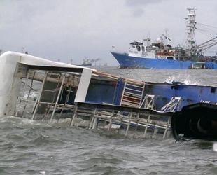 KMP Yunice isimli feribot battı: 6 ölü, 3 kayıp