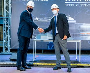 MSC Cruises'ın yeni gemisi MSC Euribia'nın inşasına başlandı