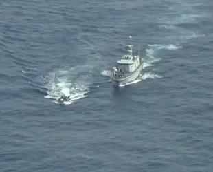 Libya Sahil Güvenlik ekipleri, göçmen teknesine ateş açtı
