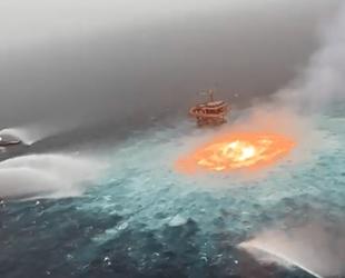 Meksika Körfezi'nde sualtı petrol boru hattında patlama meydana geldi