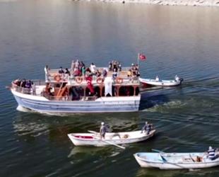 Ankara'nın saklı cenneti Çayırhan Gölü misafirlerini bekliyor