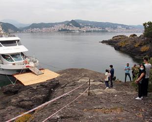 Giresun Adası, ziyaretçilerini yeniden ağırlamaya başladı