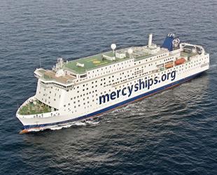 Global Mercy sivil hastane gemisi teslim edildi