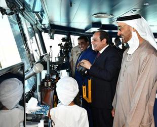 Mısır'daki 3 Temmuz Deniz Üssü törenle açıldı