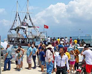 İMEAK DTO İskenderun Şubesi, tekne turu düzenledi
