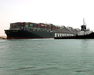 Ever Given gemisine konulan haciz kaldırıldı