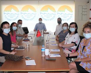 Marmaris'te 'Deniz Temizliği Projesi' toplantısı yapıldı